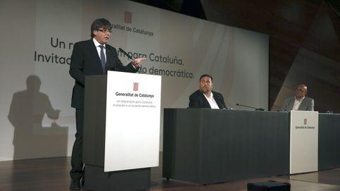 Puigdemont 'vende' su apuesta en el corazón de Madrid sin poner fecha al referéndum