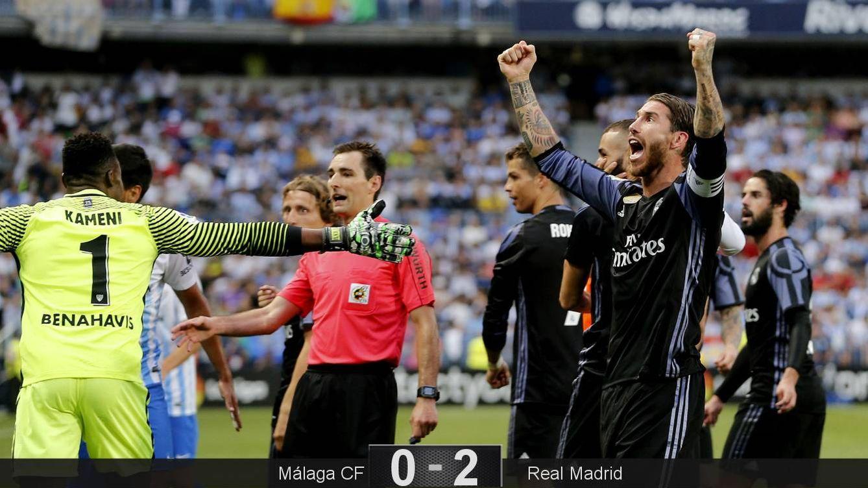 Foto: Ramos celebra el título (Reuters).