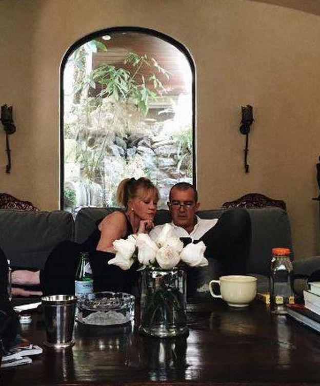 Foto: Antonio Banderas y Melanie Griffith (Instagram)