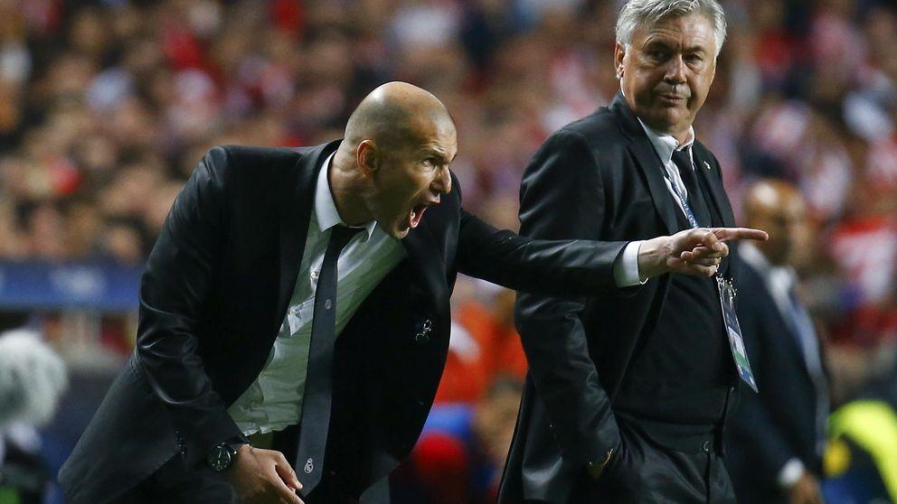 A Ancelotti le pitan los oídos y Florentino ya piensa en Zidane