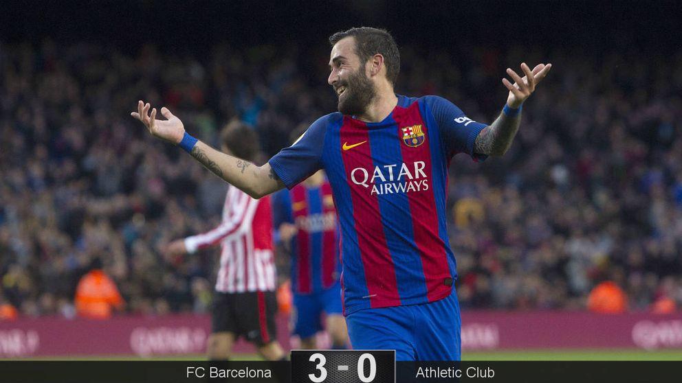 Al Barcelona no le hace falta el centro del campo para golear al Athletic