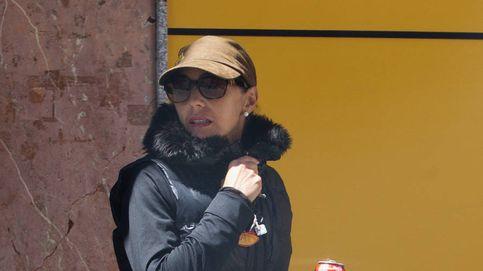La viuda de Palomo Linares recoge sus cosas en El Palomar