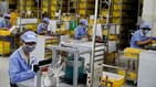 La producción industrial de China crece un 3,9% en abril, su primer incremento del año