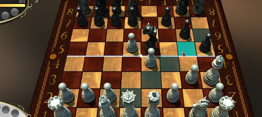 Foto: Imagen de 'Chess 2', juego desarrollado por Zac Burns.