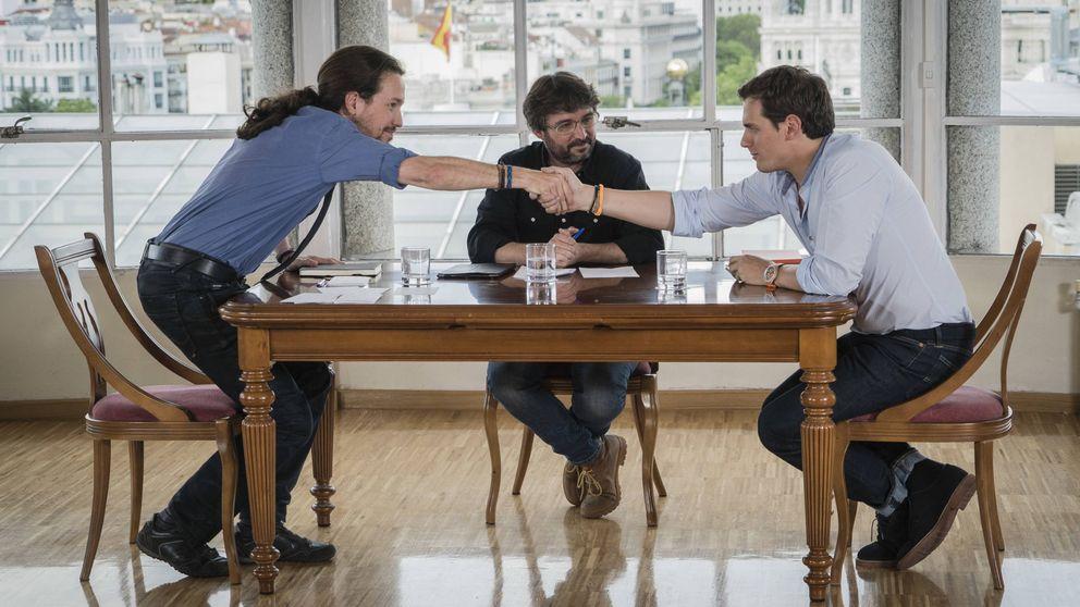 Rivera e Iglesias: del buen rollito con Évole a la enemistad irreconciliable