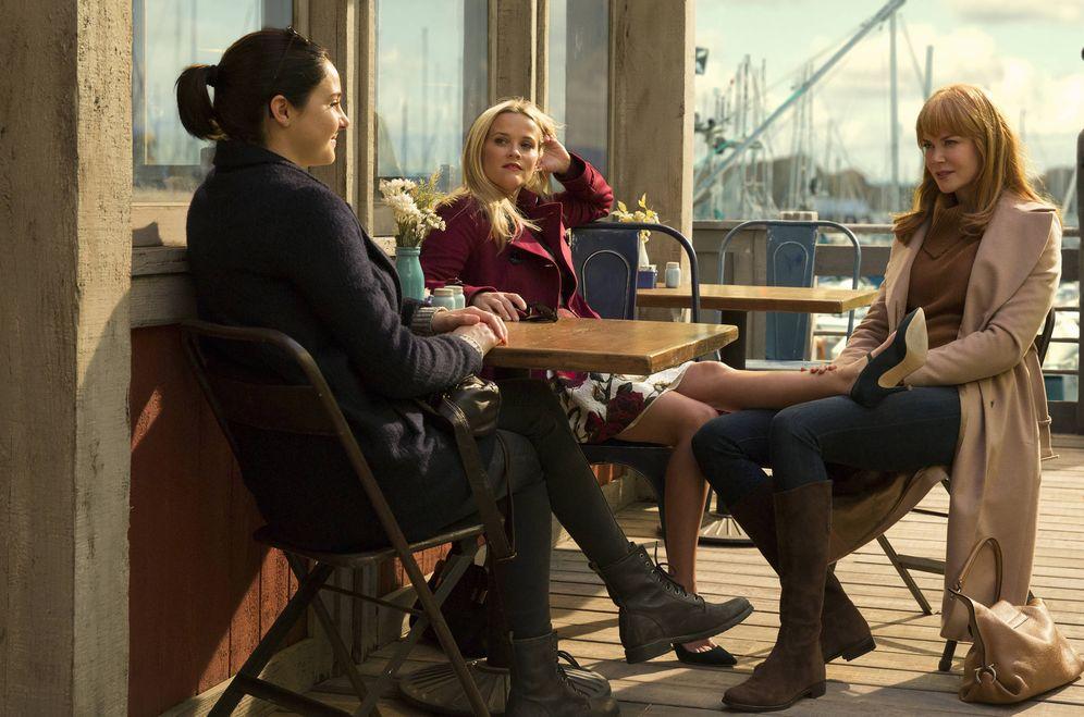Foto: Las tres actrices principales de 'Big Little Lies'.