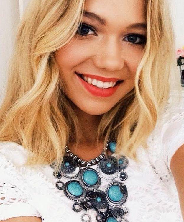 Foto: Essena O'Neil en una imagen de su perfil