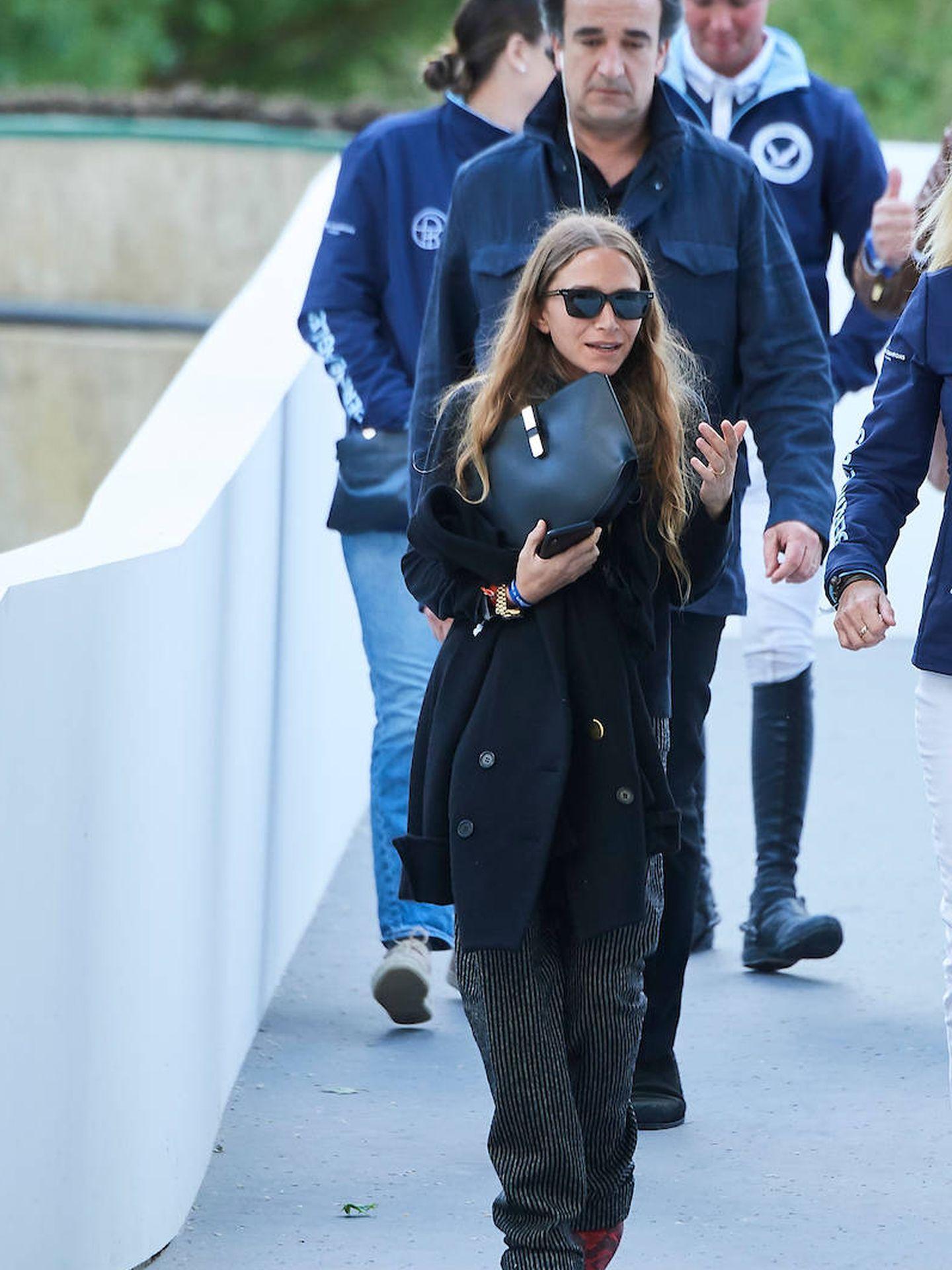 Mary-Kate Olsen y Olivier Sarkozy en el Longines Global Champions Tour 2019 de Madrid. (Limites Pictures)