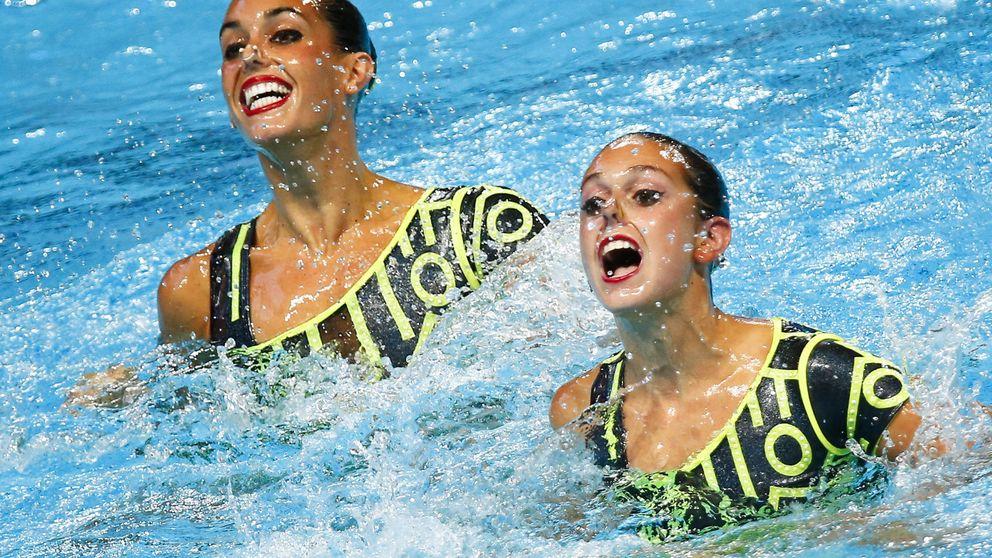 España termina quinta en el dúo técnico ante el dominio absoluto de Rusia
