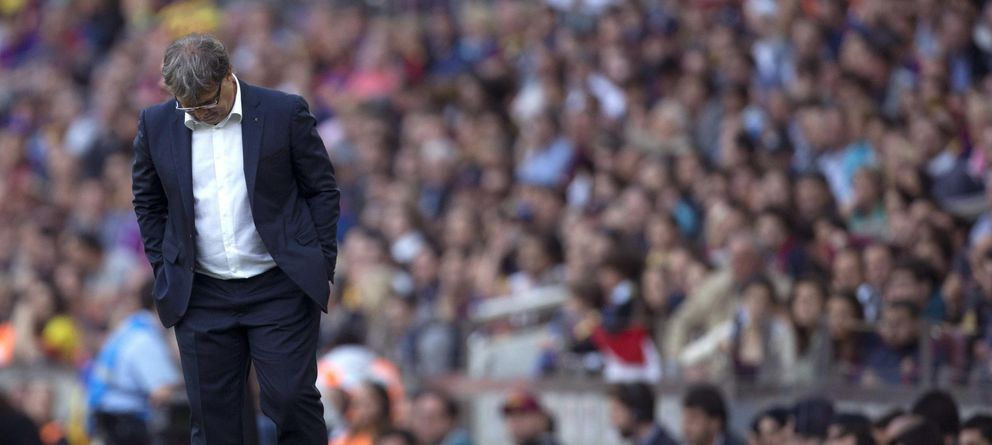 Martino anuncia que deja el Barcelona aunque le queda un año más de contrato