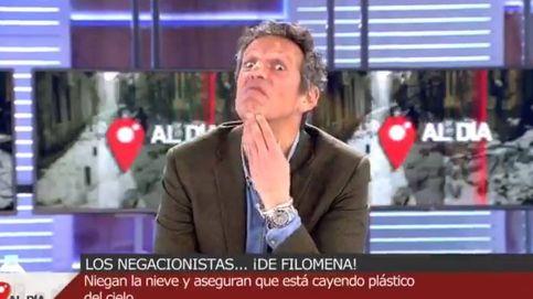 Joaquín Prat, perplejo y sin palabras ante los negacionistas de la nieve: su cara lo dice todo