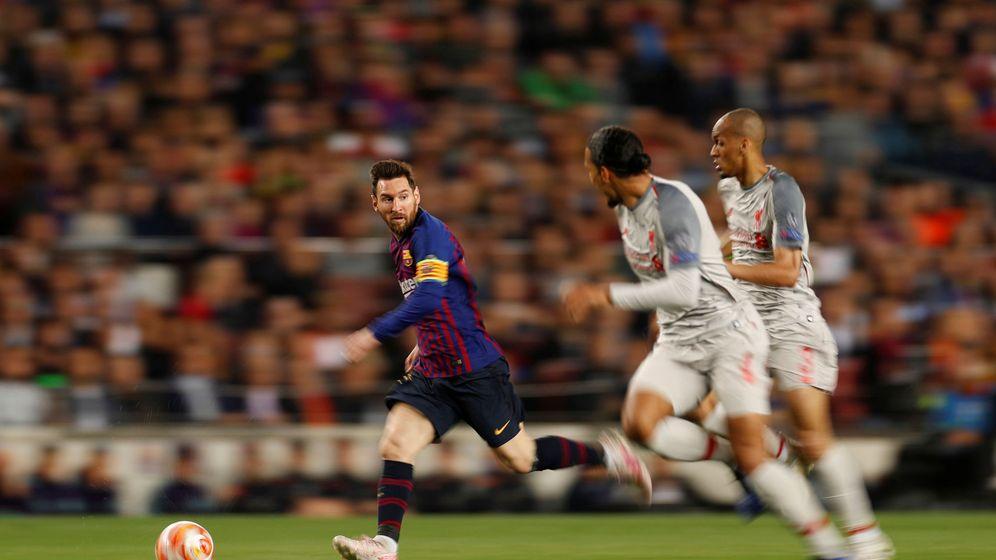 Foto: Encuentro entre el FC Barcelona y el Liverpool. (Reuters)