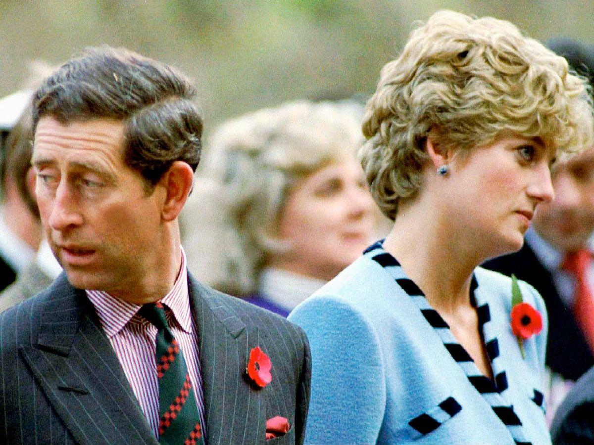 Foto: Lady Di y el príncipe Carlos. (Reuters)
