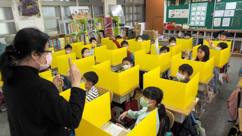 Una escuela en Taipei (Taiwan). EFE