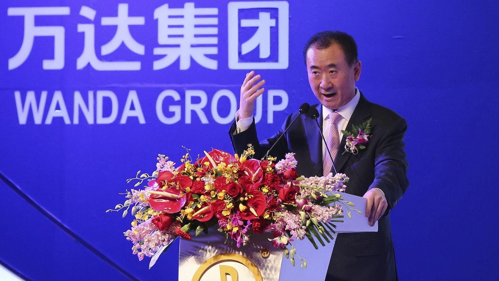 Foto: Wang Jianlin, presidente del Grupo Wanda.
