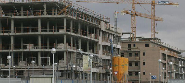 Foto: Promoción de viviendas en construcción (EFE)