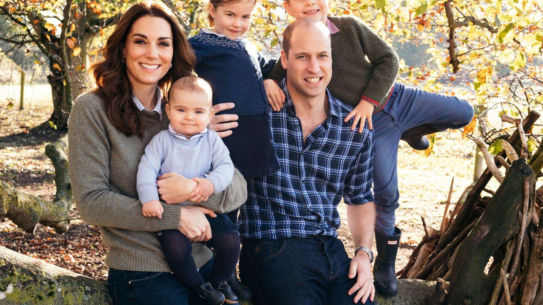 Los Cambridge y sus hijos. (Reuters)