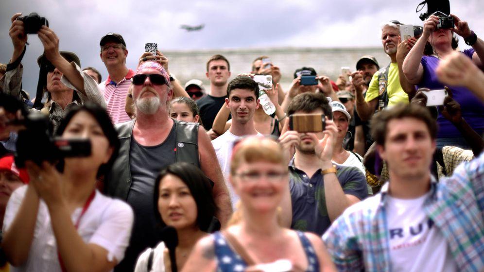 Foto: Votantes de Trump participan en el evento Rolling Thunder, en Washington, el 29 de mayo de 2016. (Reuters)