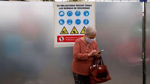 Andalucía registra el menor dato de hospitalizados por coronavirus de este mes