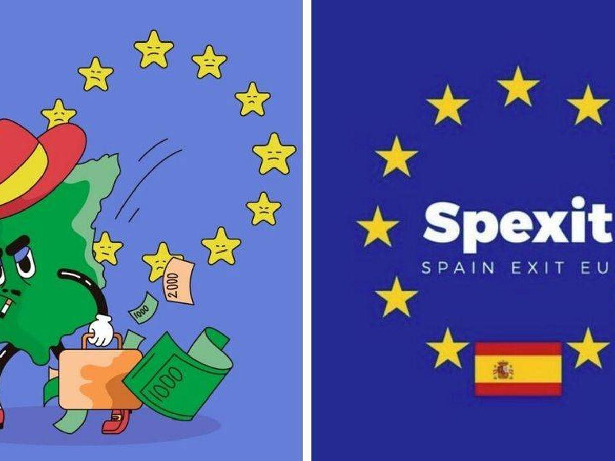 Foto: 'Spexit', la plataforma que busca la salida de España de la UE