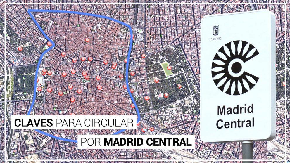Las 40 claves para sobrevivir a Madrid Central (y un vídeo explicativo)