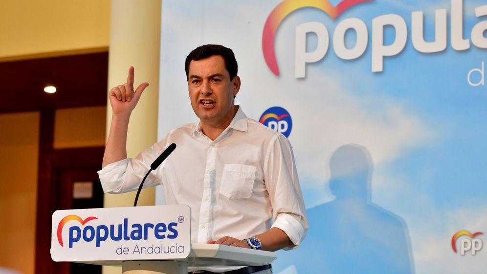 Foto: El presidente de la Junta de Andalucía, Juanma Moreno Bonilla. (EFE)