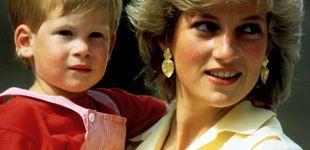 """Post de La nota manuscrita de Lady Di para el príncipe Harry: """"Mami dice que está bien"""""""