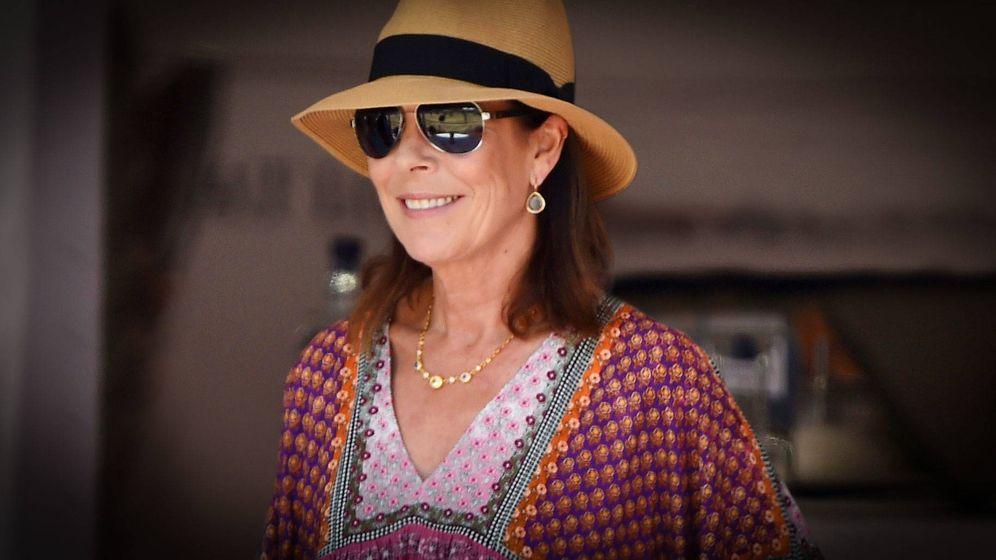 Foto: Carolina de Mónaco durante una de sus vacaciones. (Getty)