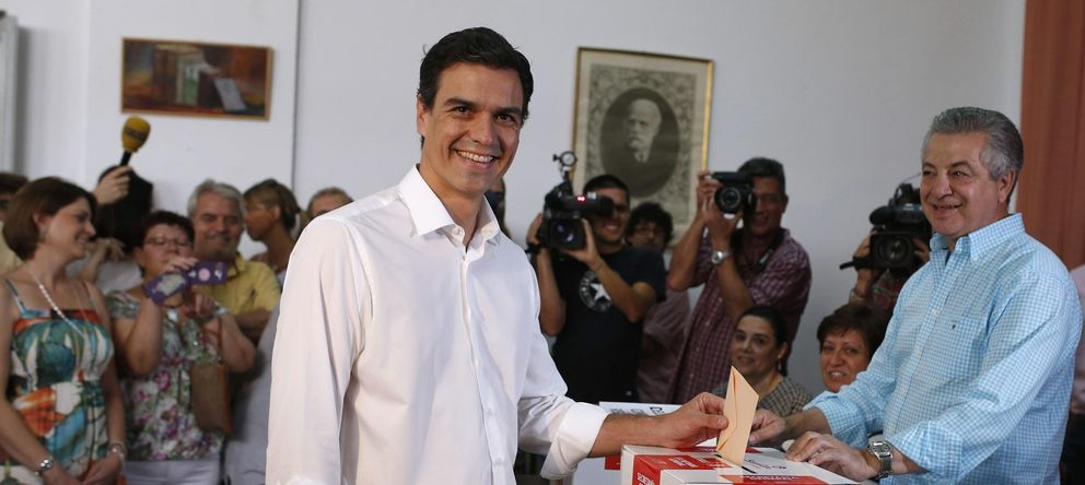 Foto: Pedro Sánchez gana las primarias internas del PSOE (Reuters):