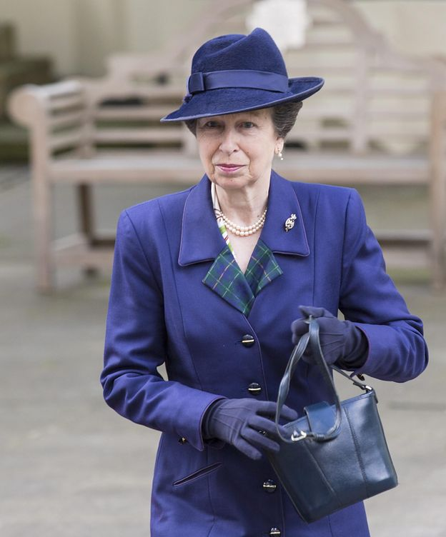 Foto: La Princesa llega a la Capilla de los Guardias en Wellington Barracks, Londres. (EFE)