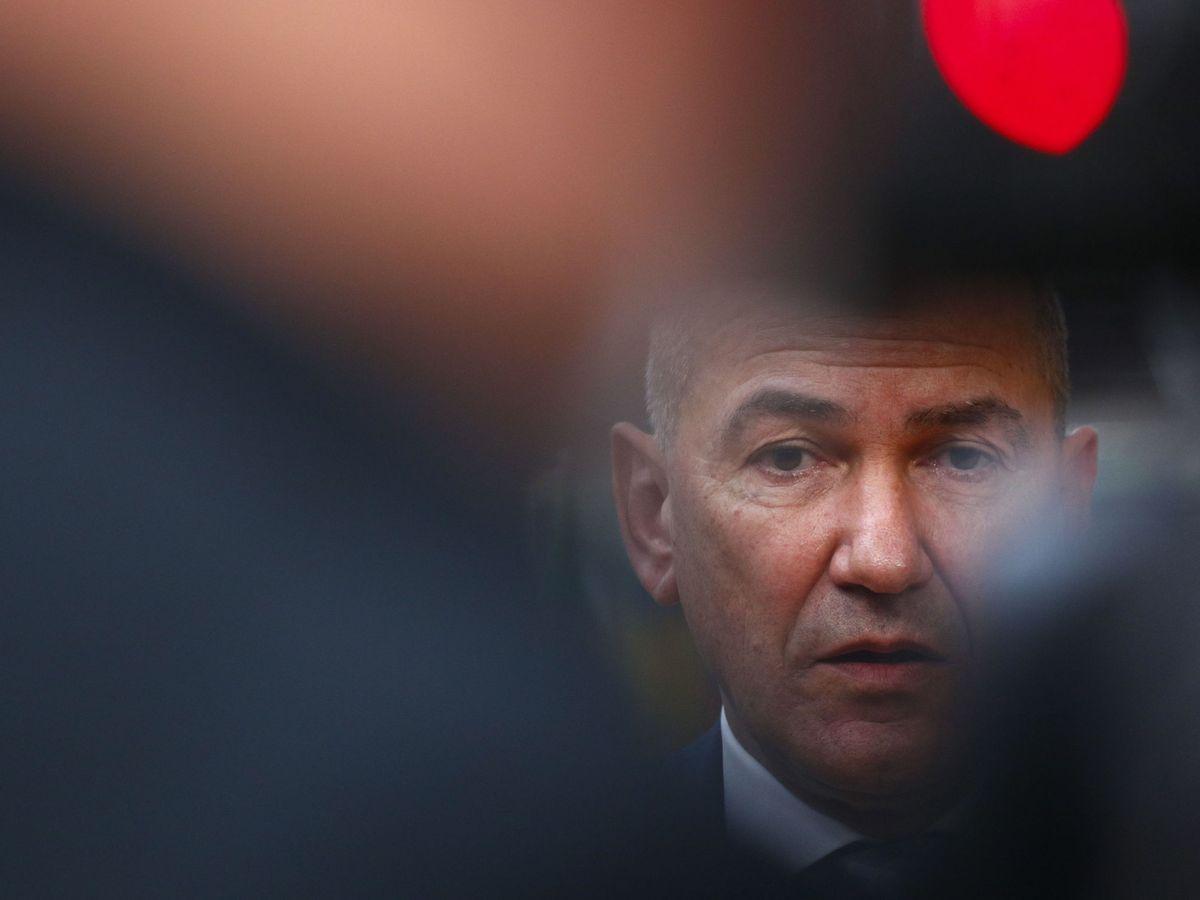 Foto: El primer ministro de Eslovenia, Janez Janša. (EFE)