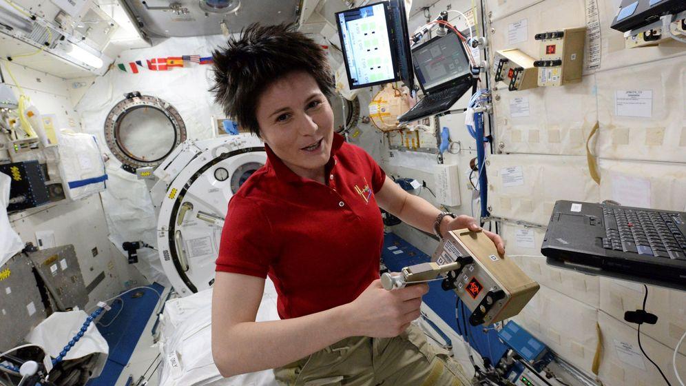 Foto: Astronauta italiana Samantha Cristoforetti (EFE)