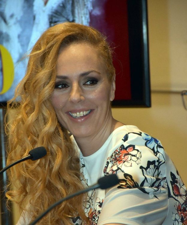 Foto: Rocío Carrasco, en la rueda de prensa. (Cordon Press)