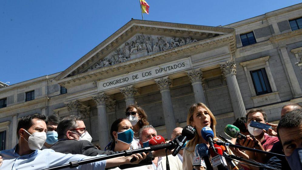 Foto: La portavoz del Partido Popular en el Congreso, Cayetana Álvarez de Toledo. (EFE)