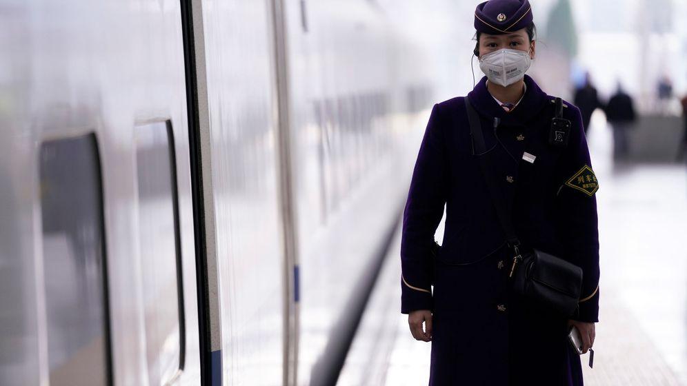Foto: Estación de tren en China. (Reuters)