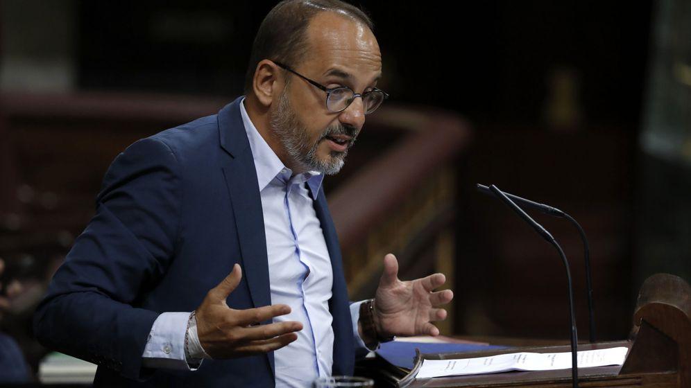 Foto: El portavoz parlamentario del PDeCAT, Carles Campuzano. (Efe)