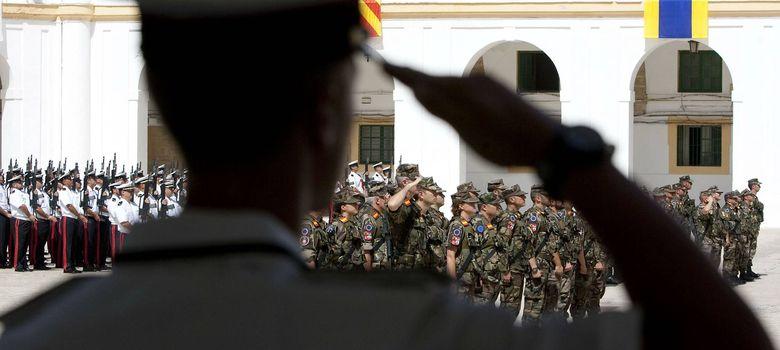 Foto: Los recortes dejan bajo mínimos la operatividad de las Fuerzas Armadas