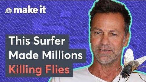 Un surfista se hace millonario con una pistola de sal para matar moscas