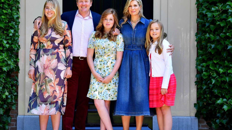 La familia real de Holanda, en una imagen de archivo. (EFE)