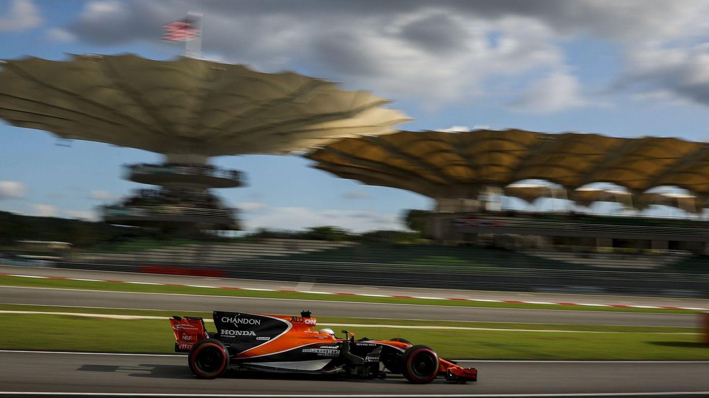 Alonso en Malasia. (EFE)