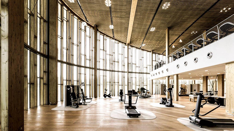 Foto: El 'showroom' de Technogym, que hace también las veces de gimnasio.