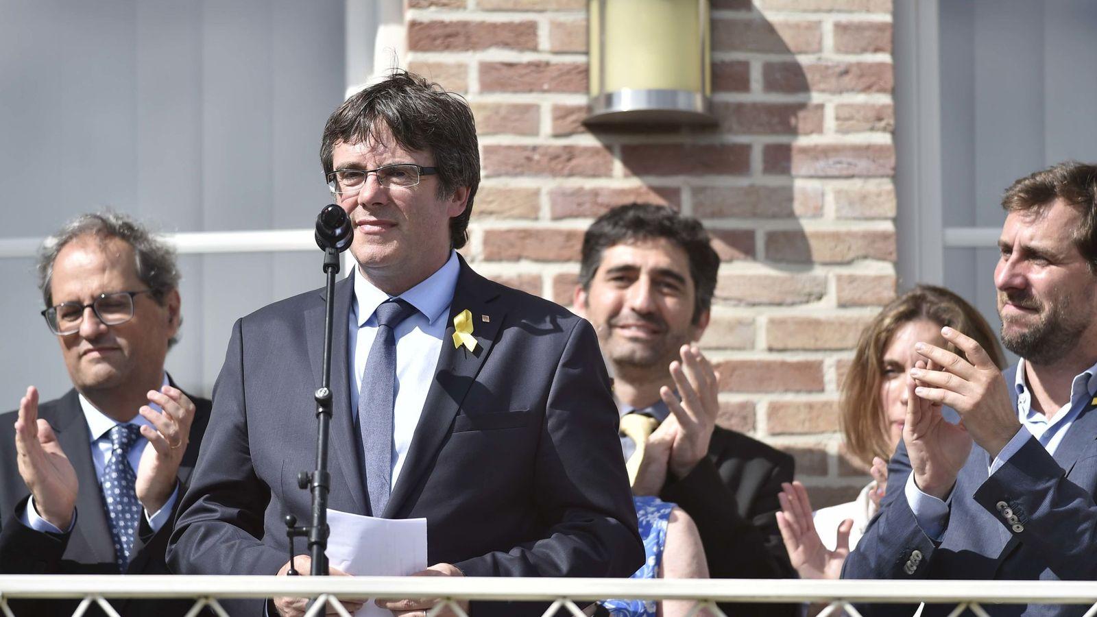 Foto: Carles Puigdemont en su casa de waterloo. (Reuters)