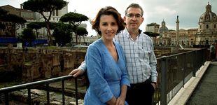 Post de Santiago Posteguillo y Ayanta Barilli, dos escritores españoles conquistan Roma