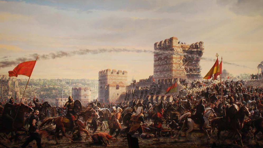 Foto: Cien mil combatientes turcos asaltaron la ciudad. (Wikimedia Commons)