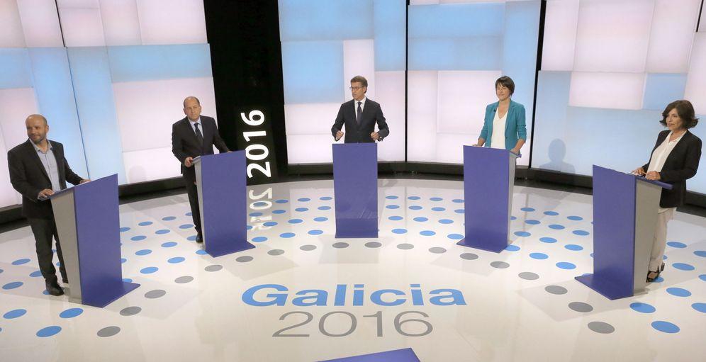Foto: Debate de los candidatos. (Efe)