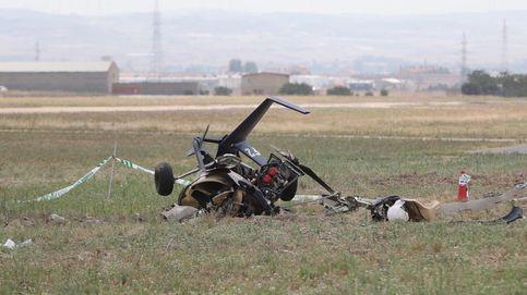 Muere el piloto de un autogiro en un accidente en Villanueva (Zaragoza)
