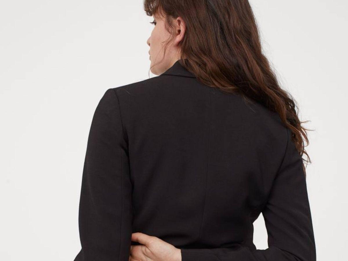 Foto: El traje de chaqueta de HyM. (Cortesía)