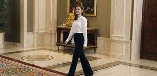 Post de Doña Letizia y el extraño caso  de los looks para las audiencias