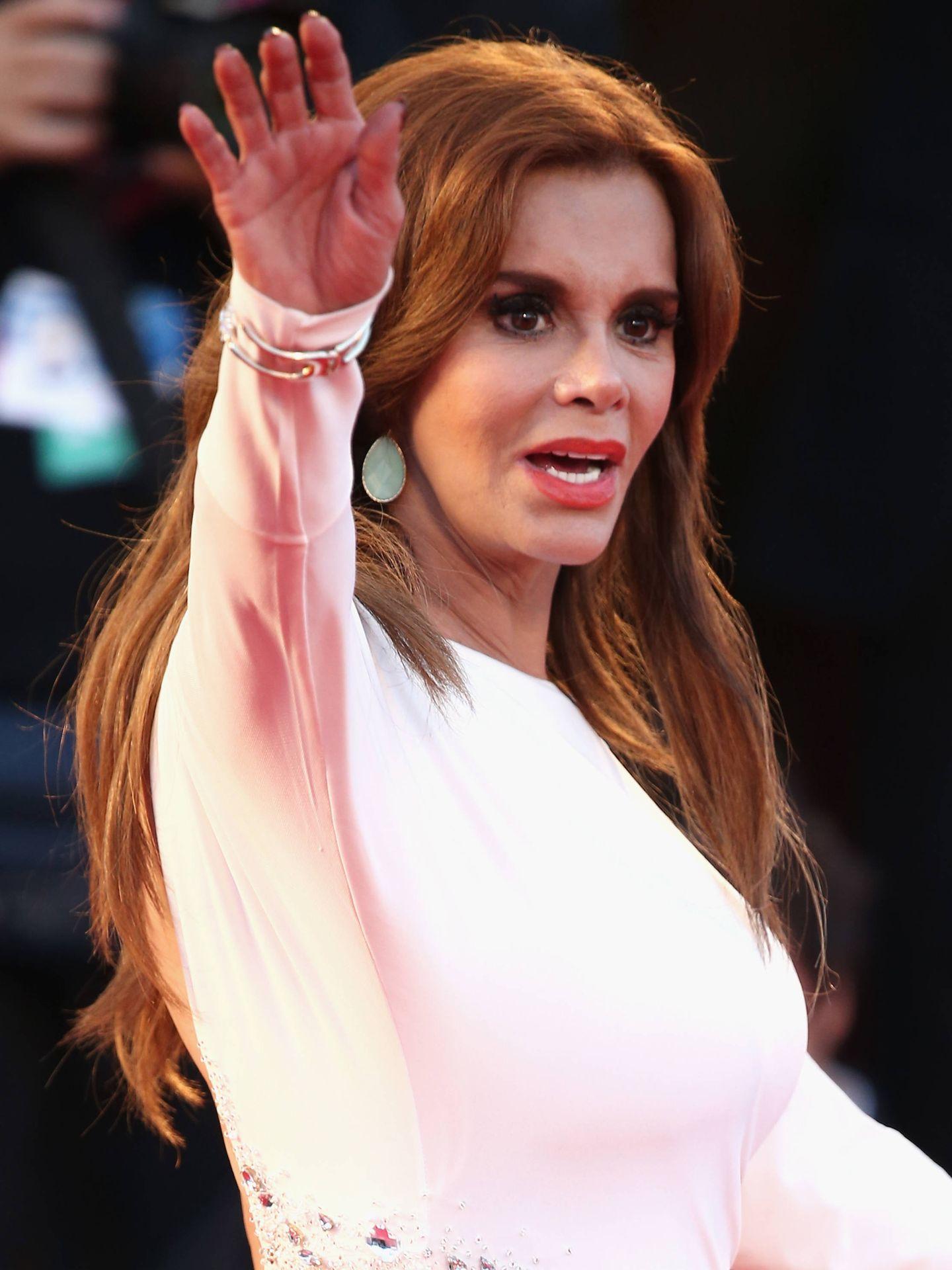 Lucía Méndez. (Getty)