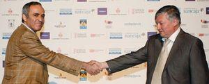 Kárpov y Kaspárov firman las paces por el bien del ajedrez